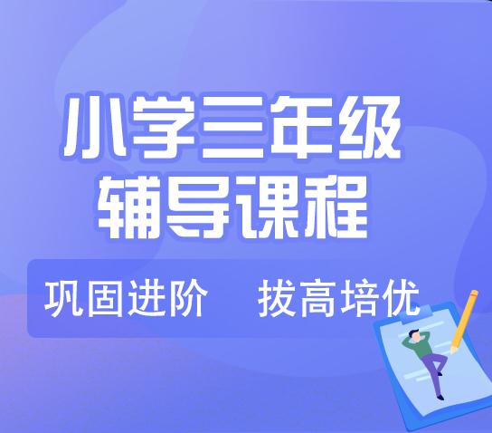 秦学教育小学三年级语文一对一辅导寒假课程