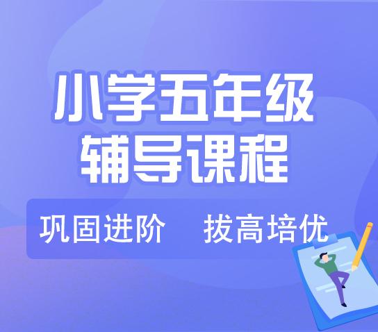 秦学教育-小学五年级英语一对一辅导冲刺课