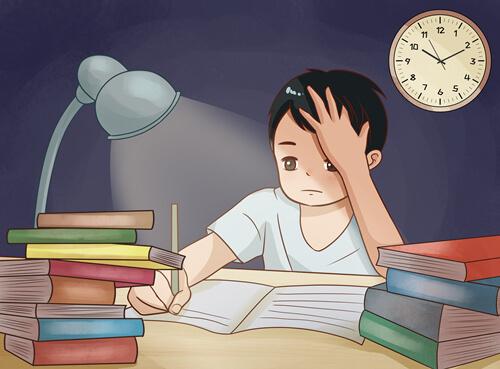 """高三的學生到底該不該""""開夜車""""學習?有用嗎?"""