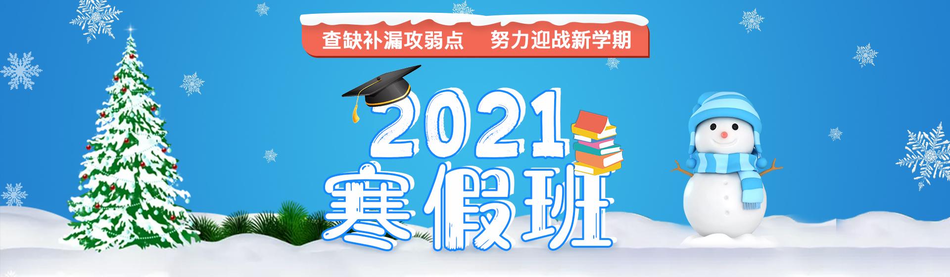 2021寒假班