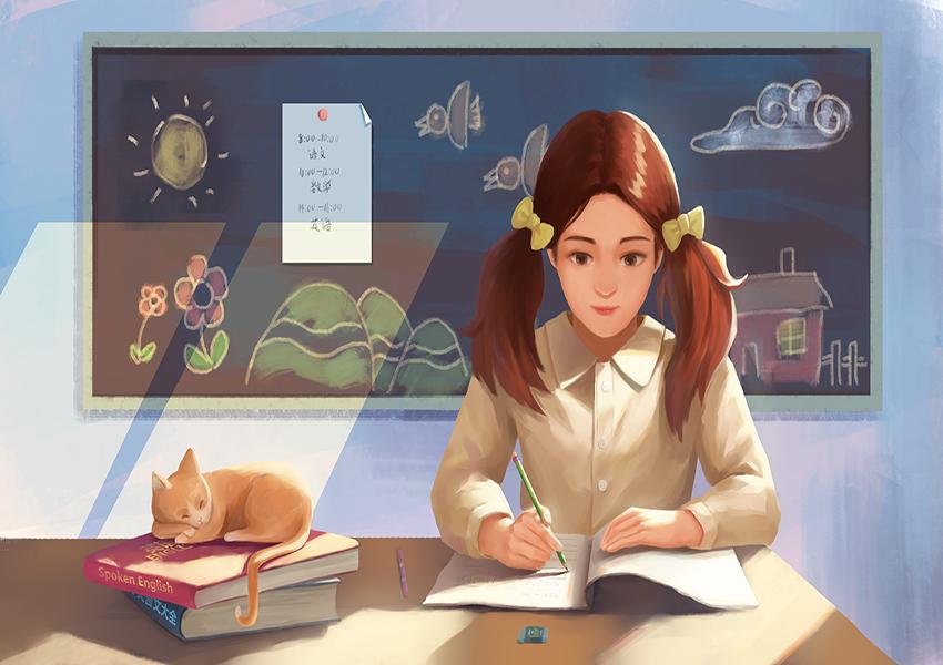 云南优秀作文《画出最好的自己》2021年高考考生值得一看,积累优美短语
