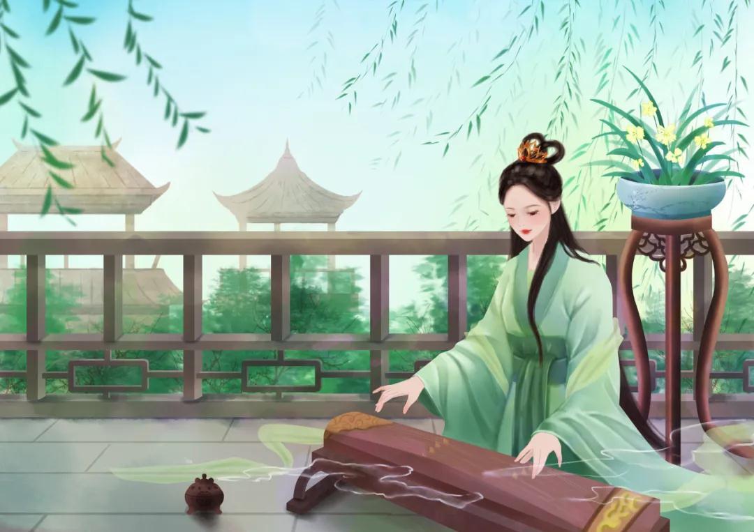 除了唐诗宋词,那时的歌谣也很美丽。秦学教育分享!