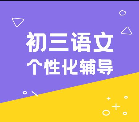 中考语文辅导寒假班